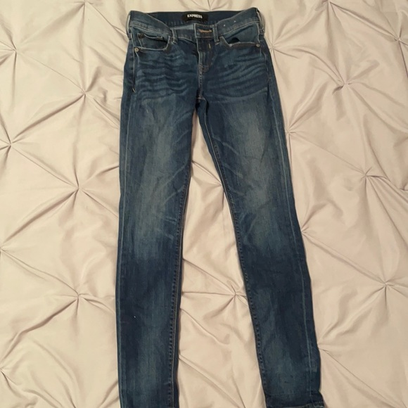 Express Women's Jeans Mid-Rise
